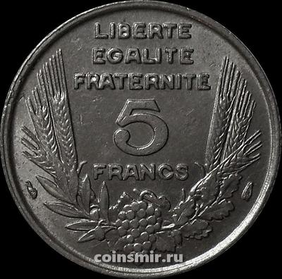 5 франков 1933 Франция.