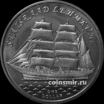 1 доллар 2018 острова Гилберта. Стадсраад Лемкуль.