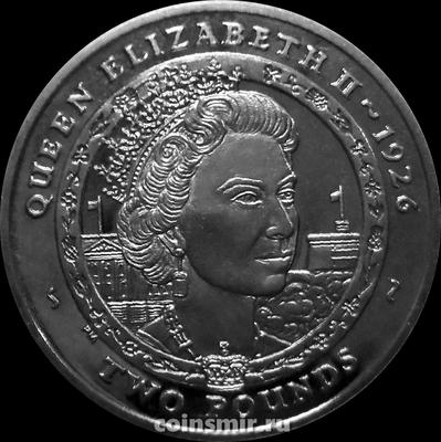 2 фунта 2007 Южная Георгия и Южные Сандвичевы острова. Елизавета II.