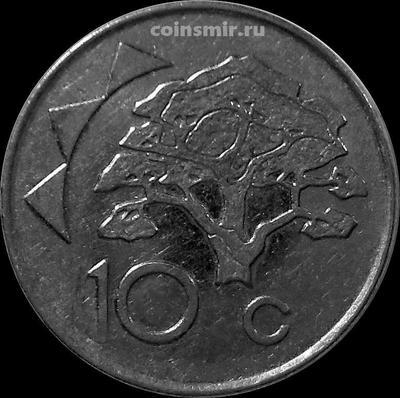 10 центов 2012 Намибия.
