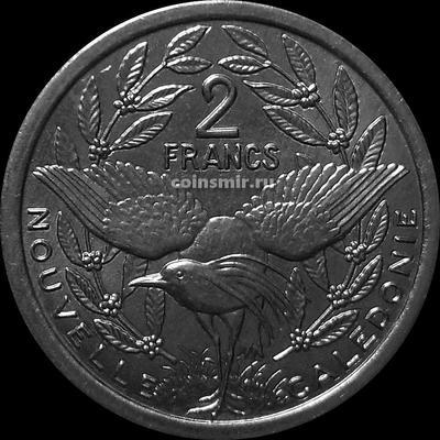 2 франка 2003 Новая Каледония.
