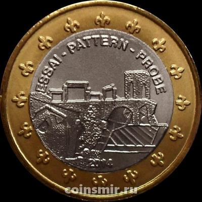 1 евро 2014 Андорра. Европроба. Xeros.