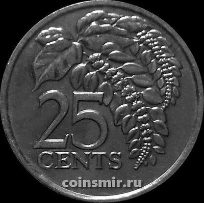 25 центов 1997 Тринидад и Тобаго.
