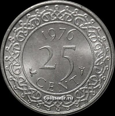 25 центов 1976 Суринам.
