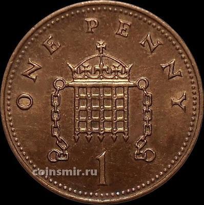 1 пенни 2003 Великобритания.