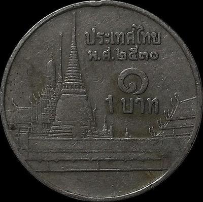 1 бат 1987 Таиланд.