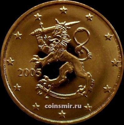 10 евроцентов 2005 М Финляндия.