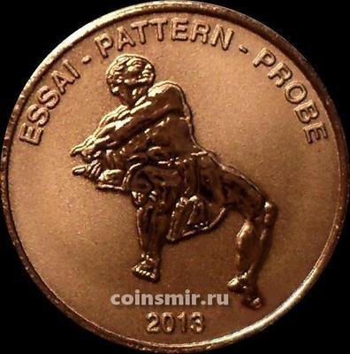 5 евроцентов 2013 Ватикан. Европроба. Xeros-ceros.