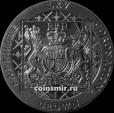 1 крона 2018 Фолклендские острова. 65 лет коронации королевы Елизаветы  II.