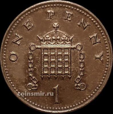 1 пенни 2006 Великобритания.