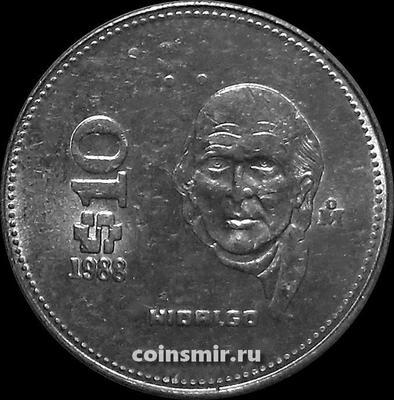 10 песо 1988 Мексика.