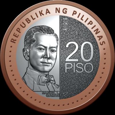 20 песо 2019 Филиппины.
