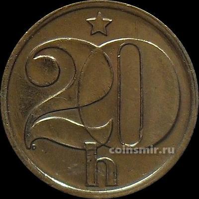 20 геллеров 1978 Чехословакия.
