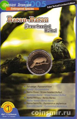 25 сен 2004 (2005) Малайзия. Желтошапочный бюльбюль.