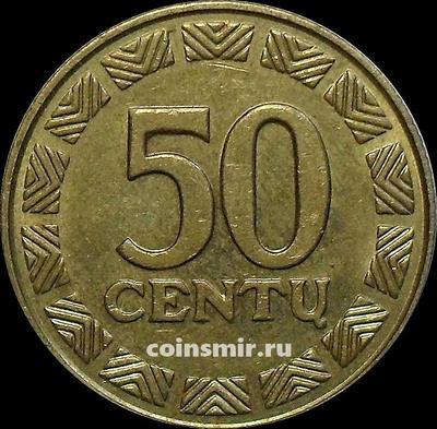 50 центов 2000 Литва.