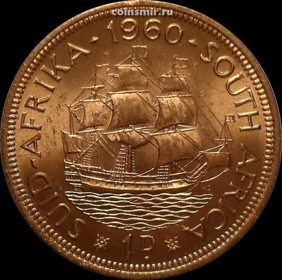 1 пенни 1960 Южная Африка. aUNC