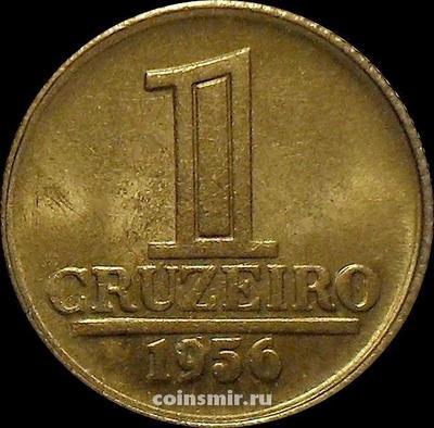 1 крузейро 1956 Бразилия.