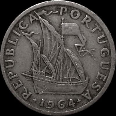 2,5 эскудо 1964 Португалия.