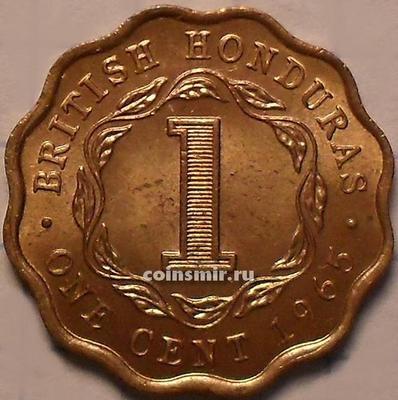 1 цент 1965 Британский Гондурас.
