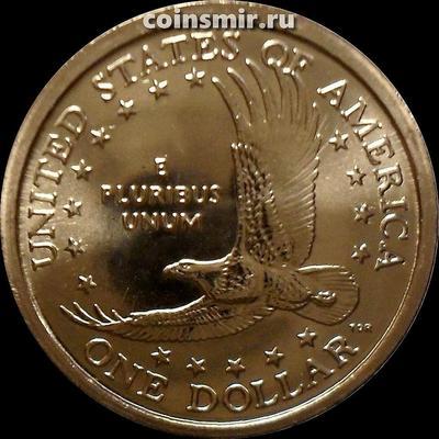 1 доллар 2002 Р США. Парящий орел.