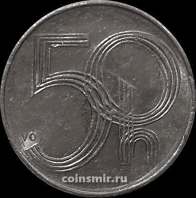 50 геллеров 1994 Чехия.
