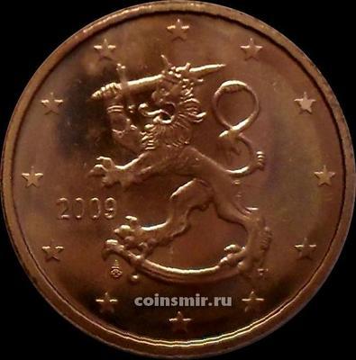 5 евроцентов 2009 Финляндия.