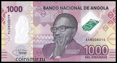1000 кванз 2020 Ангола.
