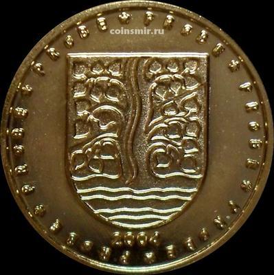 50 евроцентов 2004 Норвегия. Герб Вест-Агдера. Европроба. Ceros.