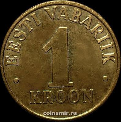 1 крона 2006  Эстония.