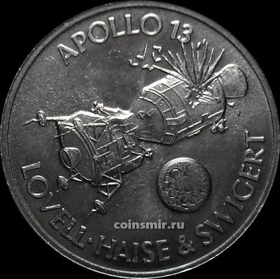 Жетон shell Аполлон-13 1970. UNC