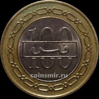 100 филсов 2002 Бахрейн.