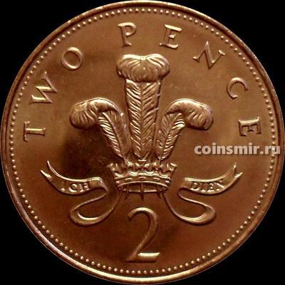 2 пенса 2005 Великобритания.