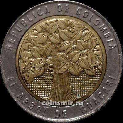 500 песо 2005 Колумбия.