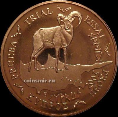 2 евроцента 2003 Кипр. Европроба. Specimen.