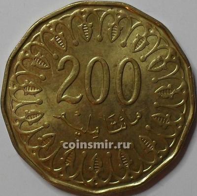 200 миллим 2013 Тунис.
