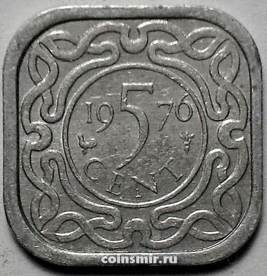 5 центов 1976 Суринам.