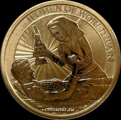 1 доллар 2017 Австралия. Женщины в Первой мировой войне.