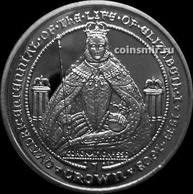 1 крона 2003 Гибралтар. Коронация. Жизнь Елизаветы I.
