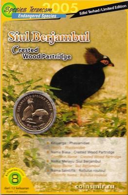 25 сен 2004 (2005) Малайзия. Венценосная куропатка.