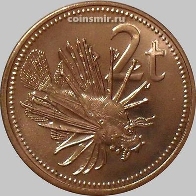 2 тойя 2002 Папуа-Новая Гвинея. Рыба-лев.