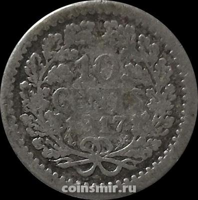 10 центов 1917 Нидерланды.