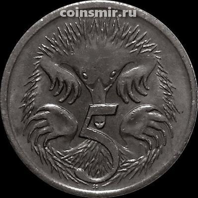 5 центов 2000 Австралия. Ехидна.