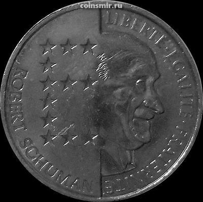 10 франков 1986 Франция.  Роберт Шуман.