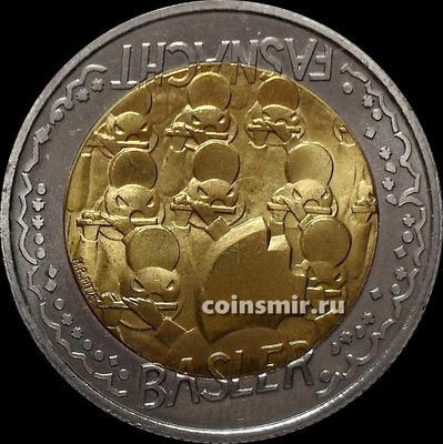 5 франков 2000 Швейцария. Карнавал в Базеле.