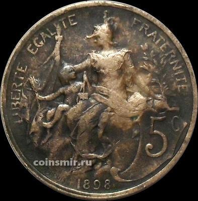5 сантимов 1898 Франция.