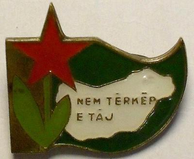 Значок Лесной заповедник. Венгрия.