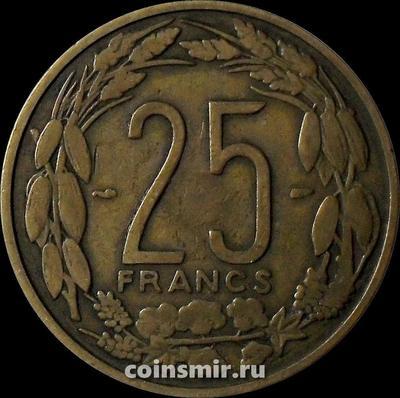 25 франков 1958 Камерун.