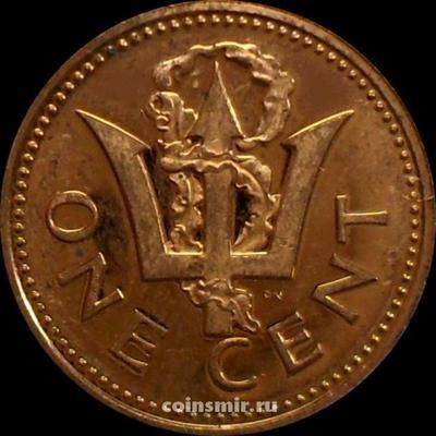 1 цент 1973 Барбадос. UNC