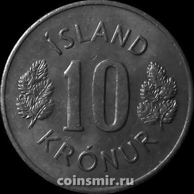10 крон 1978 Исландия.