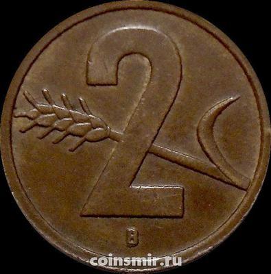 2 раппена 1951 В Швейцария.